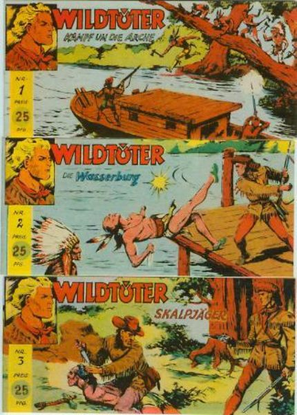 Wildtöter Piccolos + GB 1 – 12 ND CCH – komplett